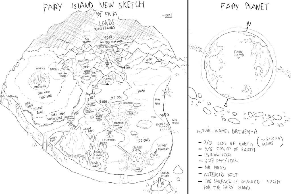 Fairy Island sketch